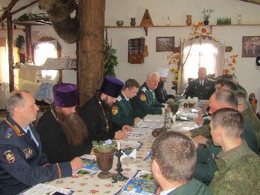 Совет атаманов ОВКО в Челябинске